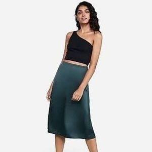 LOFT Size 2 Teal Skirt